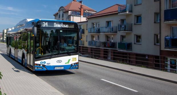 Trolejbusy, dzięki wydajnym bateriom docierają do najdalszych dzielnic Gdyni.