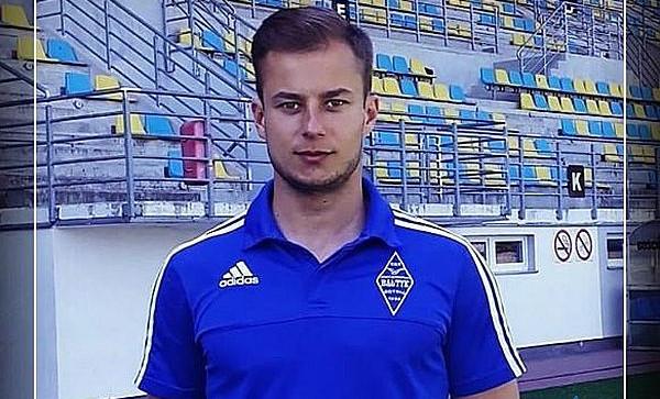 Marcin Samborski (na zdjęciu) przejął obowiązki Piotra Rzepki jako pierwszego szkoleniowca Bałtyku Gdynia.
