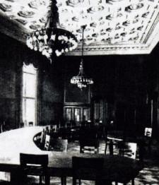 Sala konferencyjna do dziś wygląda tak samo.