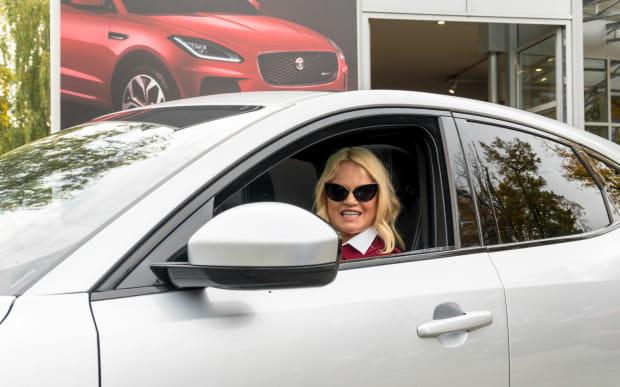 Katarzyna Figura została ambasadorką Jaguara.