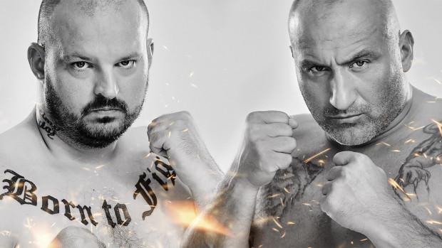 """Starcie Piotra """"Bonusa BGC"""" Witczaka (z lewej) z Marcinem Najmanem (z prawej) to walka wieczoru piątej odsłony Fame MMA."""