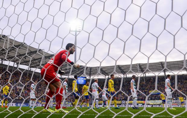 Dusan Kuciak po derbach Arka Gdynia - Lechia Gdańsk (2:2) był zdenerwowany i to z kilku powodów.