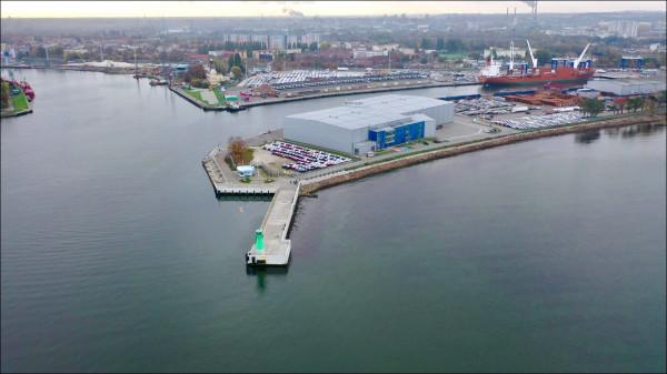 Przy ostrodze wejścia do portu w Gdańsku, w miejscu dzisiejszego placu dla samochodów, może powstać obiekt będący częścią Muzeum Westerplatte i Wojny 1939.