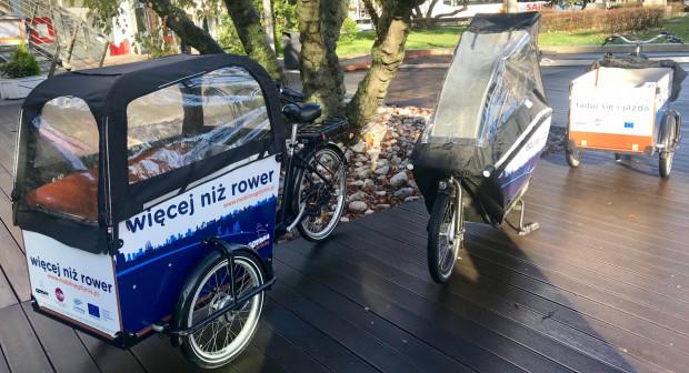 Rowery towarowe w Gdyni mogą też wypożyczyć mieszkańcy.