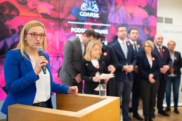 Agnieszka Owczarczak, przewodnicząca Rady Miasta Gdańska