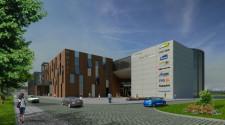 Oprócz sklepów, w obiekcie planuje się również utworzenie hotelu.
