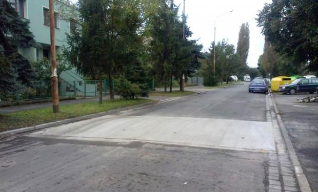 Podobne progi, jak ten we Wrocławiu, pojawią się wkrótce na dwóch ulicach Gdańska.