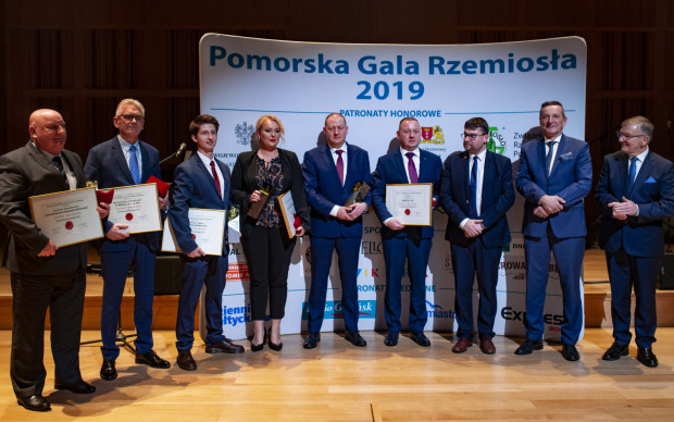 Laureaci Pomorskiej Gali Rzemiosła 2019.