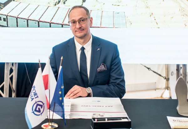 Grzegorz Dyrmo stracił stanowisko wiceprezesa Portu Gdynia w połowie listopada.