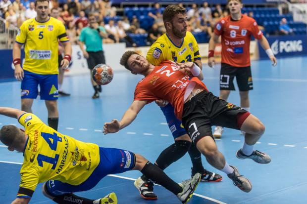 Torus Wybrzeże Gdańsk nie zdołało wygrać trzeciego z rzędu meczu w PGNiG Superlidze. Na zdjęciu Krzysztof Komarzewski.