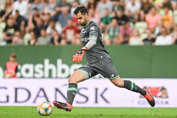 Zlatan Alomerović (na zdjęciu( przeciwko ŁKS Łódź rozegrał dopiero drugi ligowy mecz w tym sezonie. Czy na dłużej zastąpi w bramce Lechii Gdańsk Dusana Kuciaka?