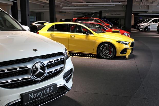 Nowości w salonie Mercedes-Benz BMG Goworowski: GLS i trzy modele od AMG.