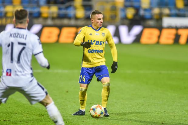 Michał Nalepa strzelił dla Arki Gdynia gola z rzutu karnego.