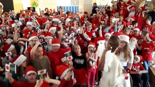Szkoła Podstawowa nr 28 w Gdyni wzięła udział w ubiegłorocznej akcji.