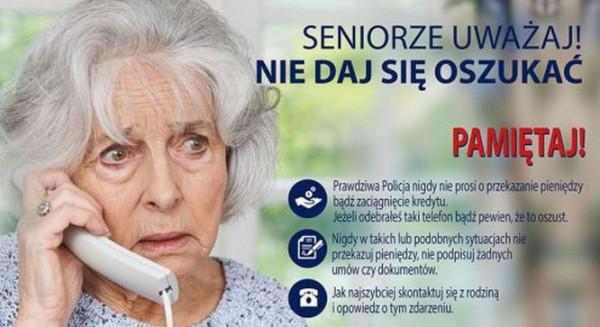 Dzięki profilaktyce coraz więcej seniorów potrafi rozpoznać próbę oszustwa.