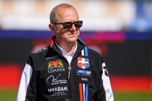 Mirosław Berliński (na zdjęciu) na pewno zostanie w Zdunek Wybrzeże Gdańsk. Pytanie czy wyłącznie w roli kierownika drużyny, czy pozostanie też pierwszym szkoleniowcem zespołu.