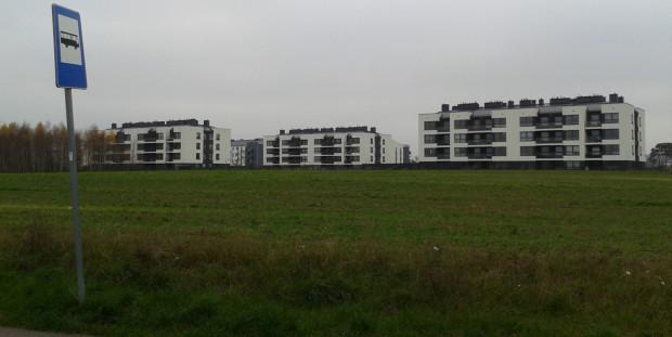 Ten krajobraz może wyglądać miejsko, ale formalnie jest to wieś Pogórze, która jest położona na granicy z Gdynią.