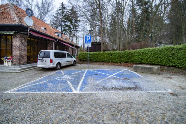 Dzięki naszej interwencji udało się odzyskać miejsce parkingowe dla osób niepełnosprawnych.