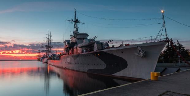 ORP Błyskawica jednoznacznie kojarzy się z Gdynią.