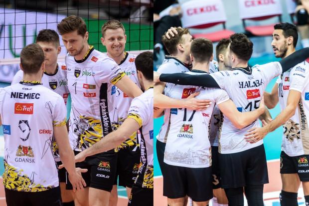 Patryk Niemiec, Piotr Nowakowski i Michał Kozłowski (wszyscy z lewej) grali w Treflu Gdańsk w poprzednim sezonie, ale po jego zakończeniu odeszli do drużyny z Warszawy. W obecnej kampanii ich miejsce zastąpili nowi siatkarze, którzy z powodzeniem radzą sobie na parkietach PlusLigi. Obie ekipy spotkają się w sobotę.