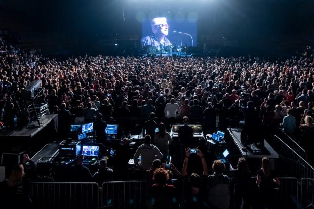 Atmosfera na widowni była gorąca jak żar w koksownikach rozstawionych przed Gdynia Areną.