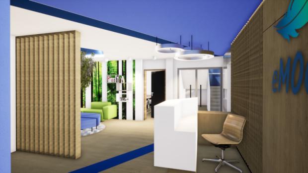 Tak prezentować się ma wnętrze wyremontowanego budynku.