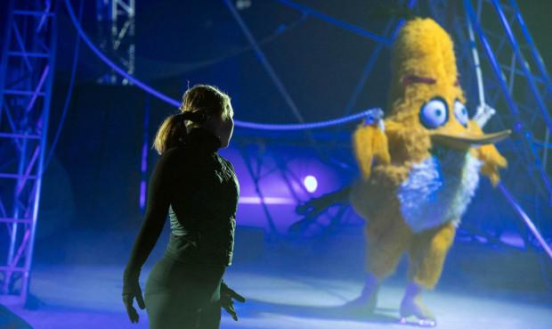"""Show """"Angry Birds on ice"""" będzie można zobaczyć po raz pierwszy w Polsce."""