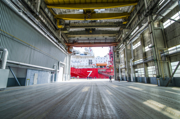 Pomorska Specjalna Strefa Ekonomiczna zmodernizowała halę produkcyjną nr 33 na Wyspie Ostrów.