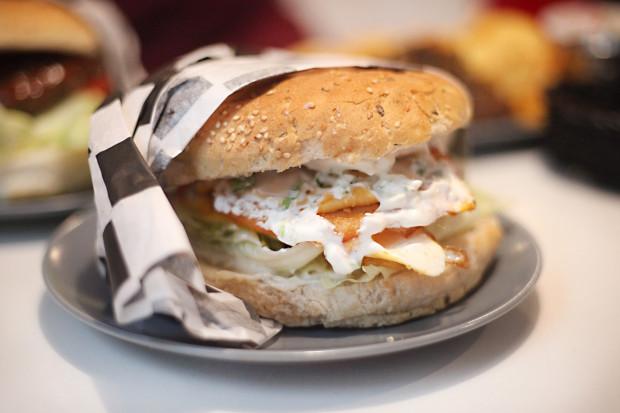 Vincent Vega burger.