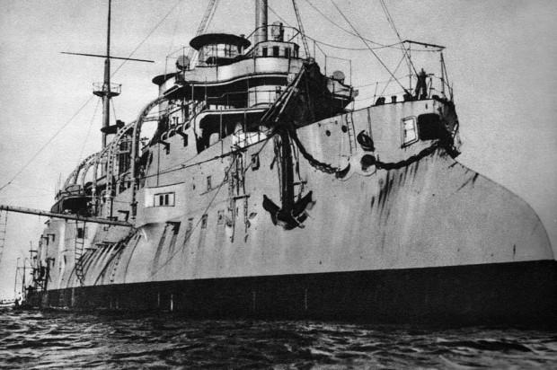 Hulk ORP Bałtyk, na którym służył Ludwik Habaj w 1939 r.