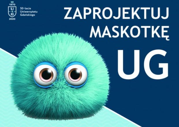 Uniwersytet Gdański z okazji obchodów 50-lecia postanowił zorganizować konkurs na swoją maskotkę.