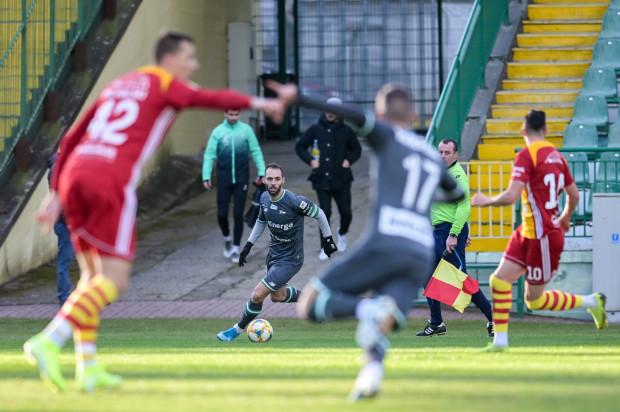 Flavio Paixao już w 5. minucie zdobył prowadzenie dla Lechii Gdańsk, ale jeszcze przed przerwą Chojniczanka odpowiedziała 3 trafieniami.