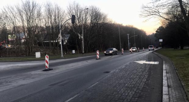 Robotnicy pojawili się już na ul Rolniczej. Do końca stycznia buspas ma zostać uruchomiony.