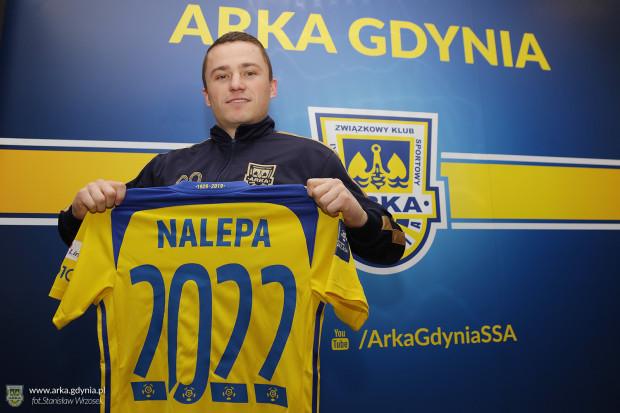 Michał Nalepa przedłużył kontrakt do 30 czerwca 2022 roku.