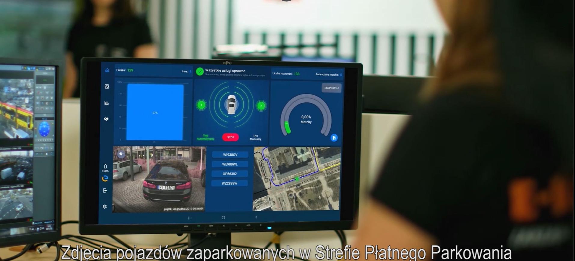 В Варшаве система электронного контроля платных парковок собирает до 30 тыс. зл. в день