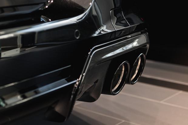 Pod maską M8 pracuje 8-cylindrowy silnik o pojemności 4,4 litra, który generuje moc 625 KM.