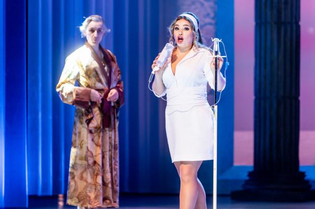 Najpiękniejszą w całej operze arię Agaty wspaniale wykonuje Gabriela Gołaszewska (na zdjęciu).