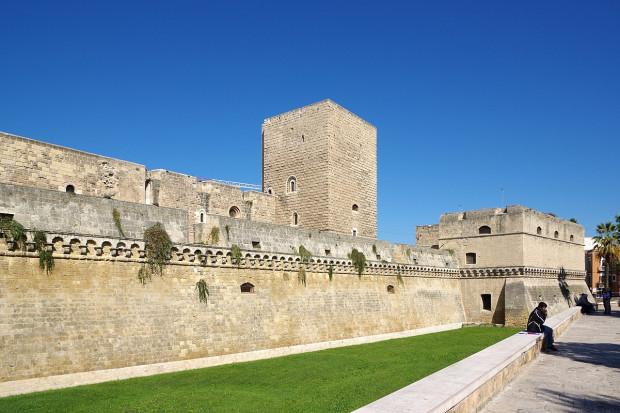Zamek w Bari.