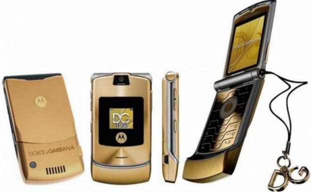 Motorola x Dolce&Gabbana - ten wyjątkowy model V3i obecnie jest na celowniku wielu kolekcjonerów.