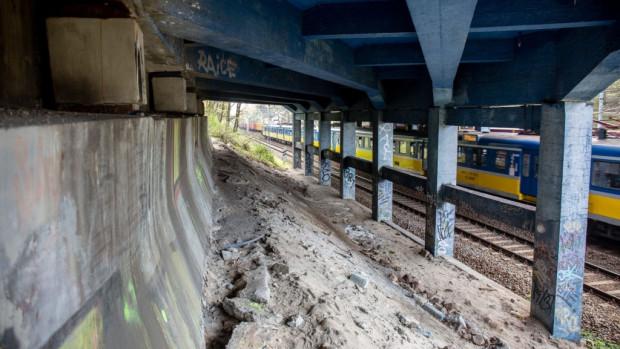 Trzeci i przypuszczalnie ostatni etap remontu wiaduktu będzie obejmował przede wszystkim jego spód.