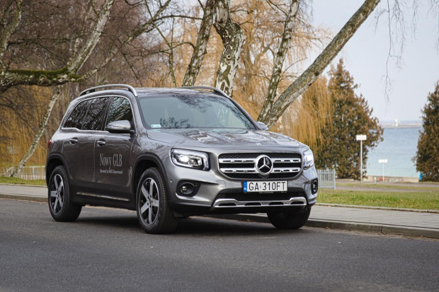 Cennik nowego Mercedesa-Benz GLB otwiera kwota 158 500 zł.