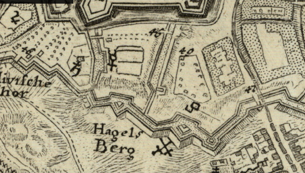Prawidłowe oznaczenie bitwy z 9 maja 1734 i rosyjskiego grobu.