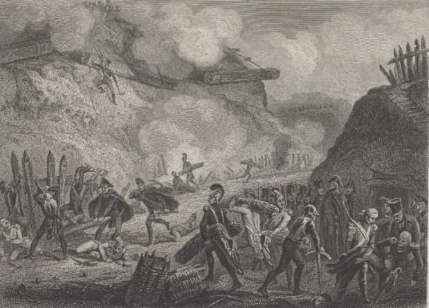 Walki o Górę Gradową w roku 1807.