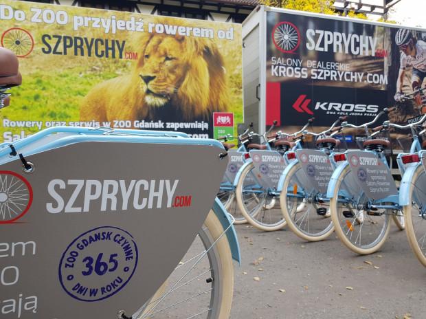 Gdańskie zoo otrzymało 30 rowerów, na których mogą poruszać się pracownicy.