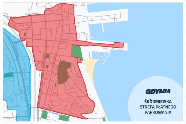 Nowe strefy płatnego parkowania w Gdyni