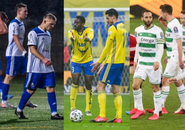 Piłkarze Arki Gdynia i Lechii Gdańsk otrzymali polecenie nie opuszczania Trójmiasta przez weekend. W Bałtyku Gdynia ostatni trening odbył się w środę.