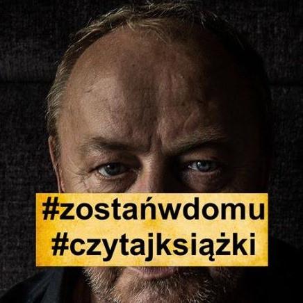 """Janusz Leon Wiśniewski apeluje do swoich czytelników: """"Zostań w domu! Czytaj książki!"""""""