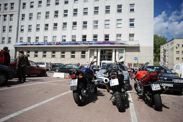 W Gdyni motocykliści muszą wnosić opłaty w SPP w wysokości identycznej jak kierowcy aut.