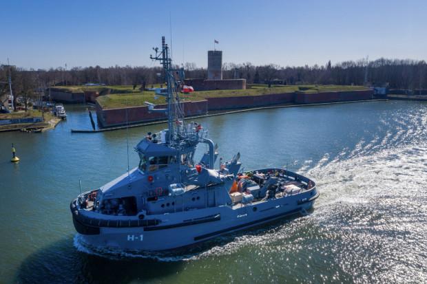 Jednostka zasili flotęDywizjonu Okrętów Wsparcia.