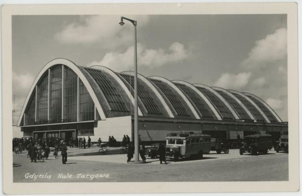 Budynek hali warzywnej od strony ul. 3 Maja, 1938 (ze zbiorów Muzeum Miasta Gdyni)